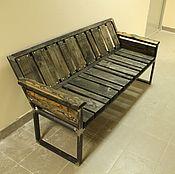 Диваны ручной работы. Ярмарка Мастеров - ручная работа Деревянный диван лофт. Handmade.