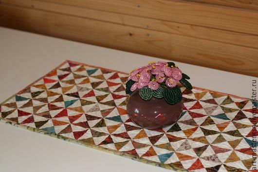 Кухня ручной работы. Ярмарка Мастеров - ручная работа. Купить Салфетка на стол. Handmade. Лоскутное шитье, лоскутные аксессуары, лоскутный