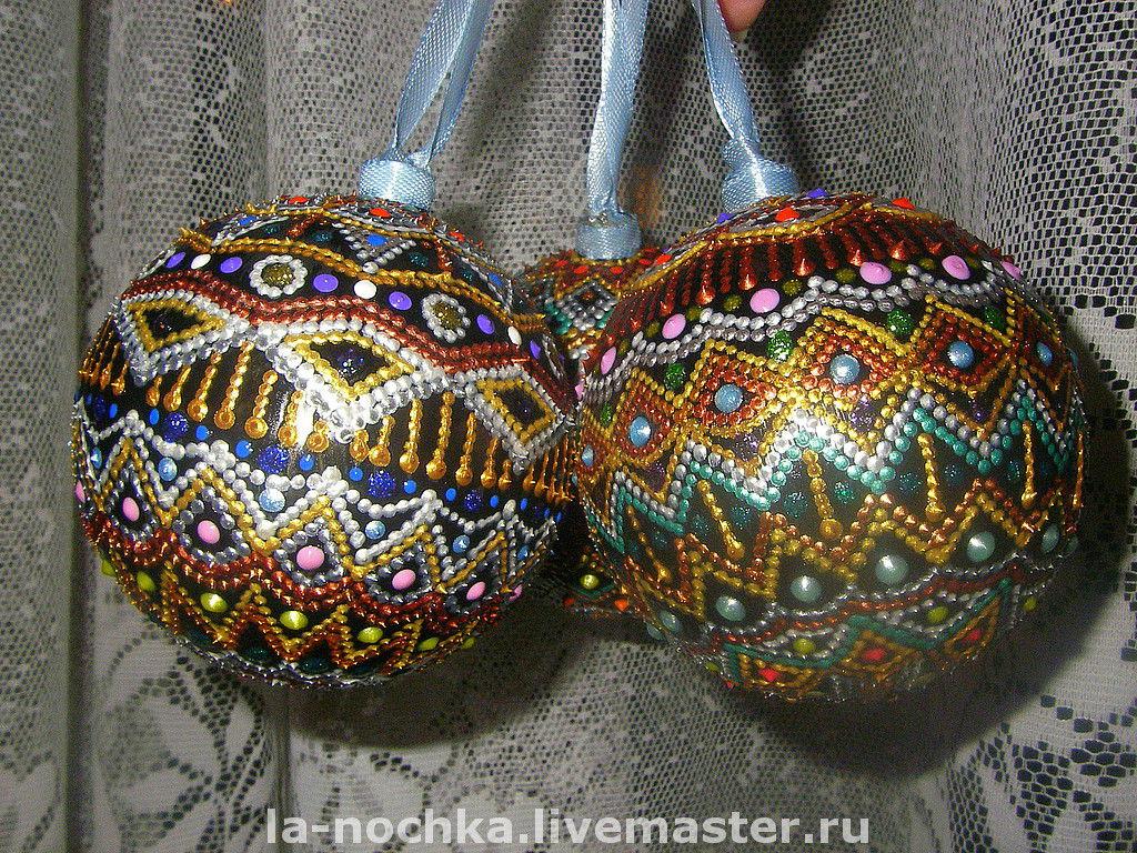 Новогодние елочные шары своими руками фото 246