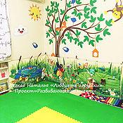"""Куклы и игрушки ручной работы. Ярмарка Мастеров - ручная работа Проект """"Развивающая комната"""". Handmade."""