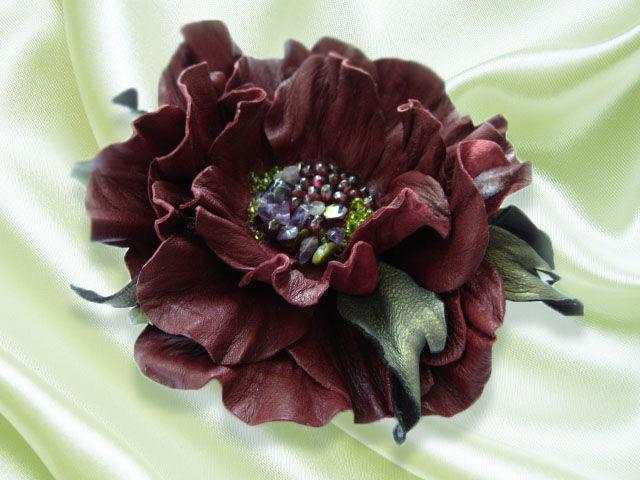 Цветок заколка для волос купить