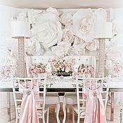 Свадебный салон ручной работы. Ярмарка Мастеров - ручная работа Декор свадеб цветами из бумаги . разные вариации. Handmade.