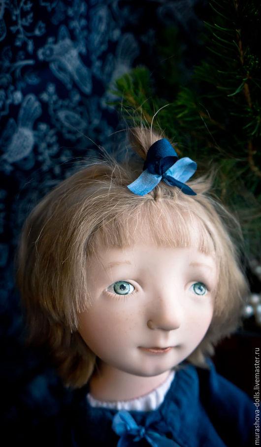 Коллекционные куклы ручной работы. Ярмарка Мастеров - ручная работа. Купить Дочь моряка. Handmade. Синий, living doll