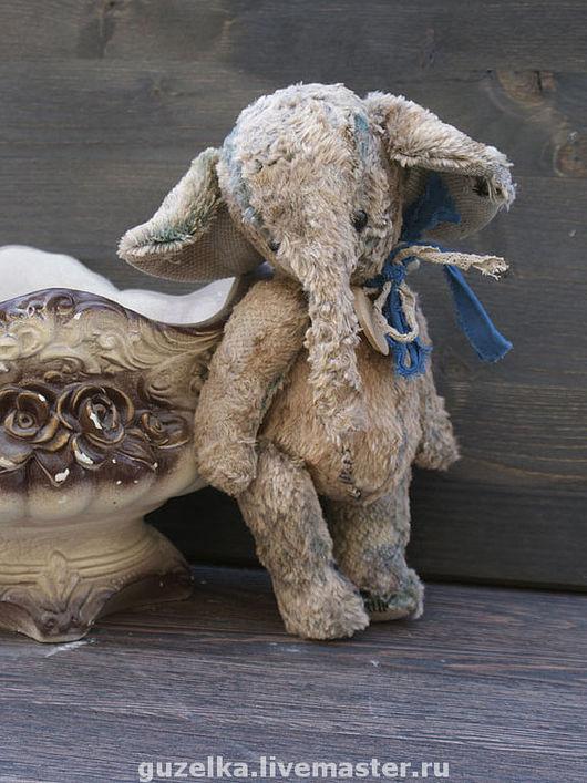 """Мишки Тедди ручной работы. Ярмарка Мастеров - ручная работа. Купить Слоник """"Тодор"""". Handmade. Слоник, слоник ретро"""