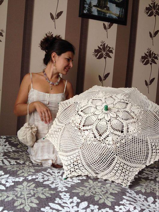 Зонты ручной работы. Ярмарка Мастеров - ручная работа. Купить Коллекция Свадебных зонтиков. Handmade. Разноцветный, зонт для невесты