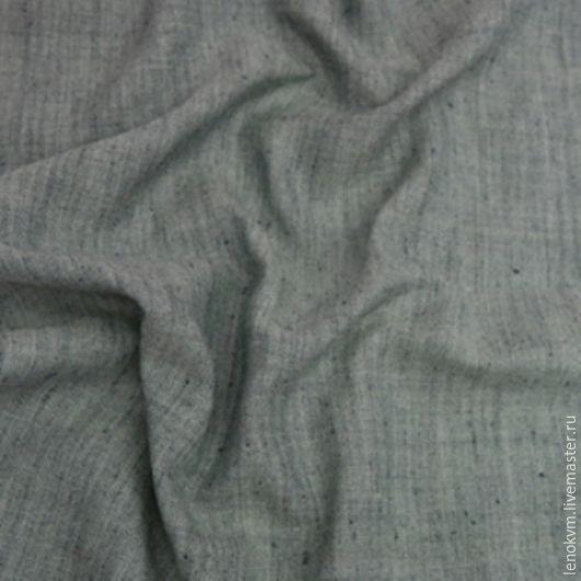Шитье ручной работы. Ярмарка Мастеров - ручная работа. Купить Льняная ткань с лавсаном Л-2347. Handmade. Льняная ткань