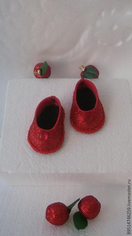 Одежда для кукол ручной работы. Ярмарка Мастеров - ручная работа. Купить Нарядные туфельки для любого праздника. Handmade. Фуксия, для праздника