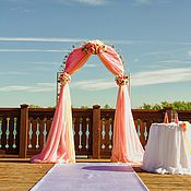 Свадебный салон ручной работы. Ярмарка Мастеров - ручная работа Оформление выездной регистрации,свадьба в Саратове. Handmade.