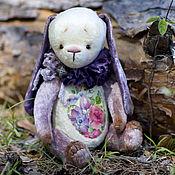Куклы и игрушки ручной работы. Ярмарка Мастеров - ручная работа Лесная фиалка зайчик тедди. Handmade.