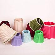 Для дома и интерьера ручной работы. Ярмарка Мастеров - ручная работа Маленькие абажуры для люстр, светильников, бра и ламп. Handmade.