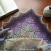 Аксессуары handmade. Livemaster - original item Shawl. Openwork shawl. Knitted scarf. Handmade.