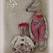 Куклы и игрушки ручной работы. Ярмарка Мастеров - ручная работа Красная Пашечка и Серый Волька. Handmade.