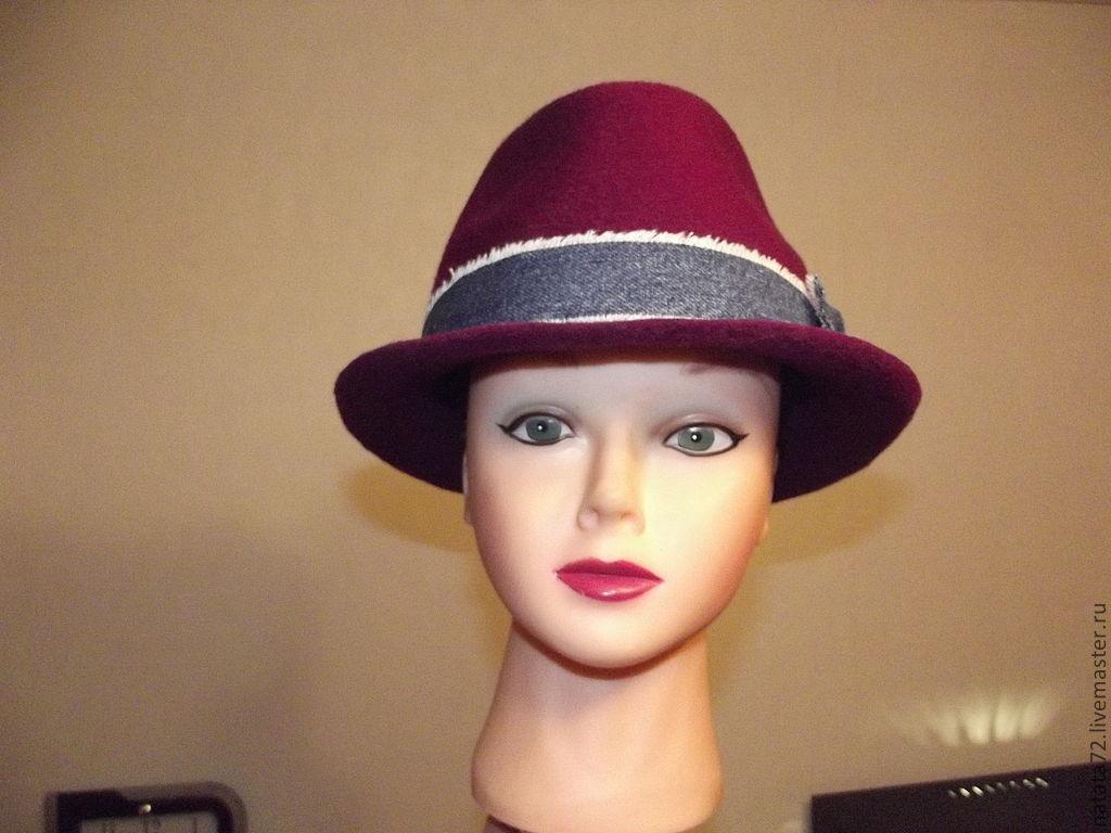 Мужская шляпа своими руками фото 567