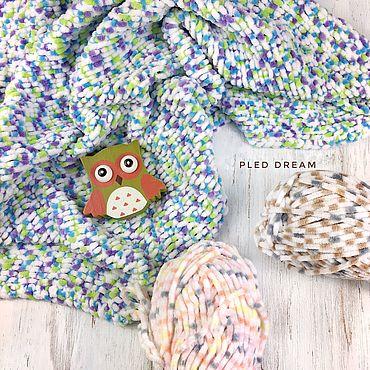 Текстиль ручной работы. Ярмарка Мастеров - ручная работа Пледы: Плюшевый плед для малышей, плед детский для новорожденного. Handmade.