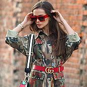 Платья ручной работы. Ярмарка Мастеров - ручная работа Платье APRB эксклюзивный камуфляж принтовка. Handmade.