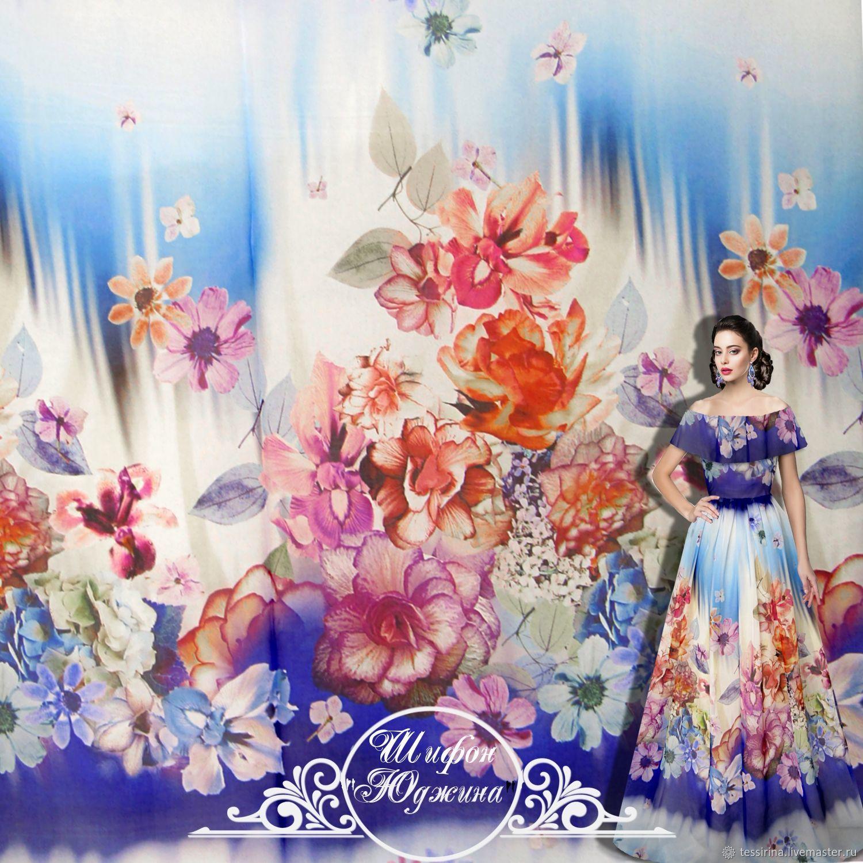 """Copy of Шифон Blumarine """"Эланор"""" итальянские ткани, Fabric, Sochi,  Фото №1"""