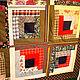 """Текстиль, ковры ручной работы. Ярмарка Мастеров - ручная работа. Купить Лоскутное покрывало """"Крестьянская изба"""". Handmade. Лоскутное покрывало"""