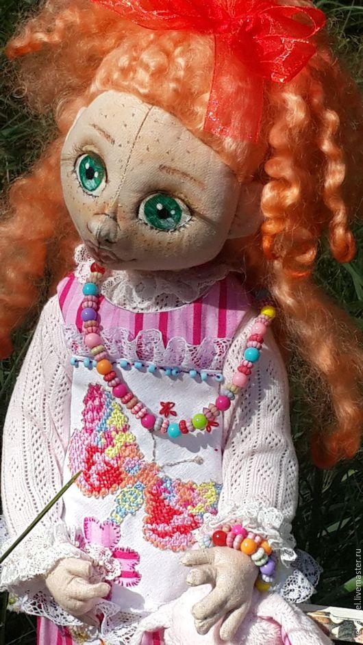 Коллекционные куклы ручной работы. Ярмарка Мастеров - ручная работа. Купить Проказница Рита. Handmade. Кукла ручной работы, кружево
