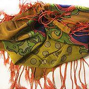 Аксессуары ручной работы. Ярмарка Мастеров - ручная работа Платки,палантины из натуральных тканей. Handmade.