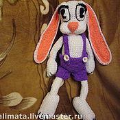 Куклы и игрушки ручной работы. Ярмарка Мастеров - ручная работа Большой белый заяц. Handmade.