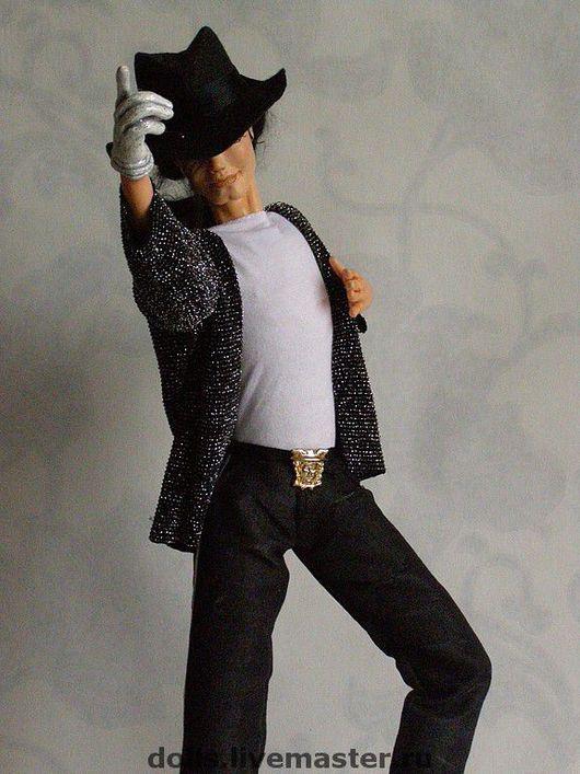 Коллекционные куклы ручной работы. Ярмарка Мастеров - ручная работа. Купить Майкл. Handmade. Майкл, мохер