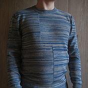 """Пуловеры ручной работы. Ярмарка Мастеров - ручная работа Вязаный мужской пуловер """"Thomas"""". Handmade."""