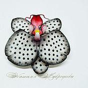 Украшения handmade. Livemaster - original item Barrette/brooch Orchid