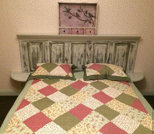 Мебель ручной работы. Ярмарка Мастеров - ручная работа. Купить Изголовье кровати. Handmade. Комбинированный, мебель ручной работы