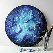 Картины и панно handmade. Livemaster - original item Space landscape acrylic. Handmade.