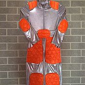 Работы для детей, handmade. Livemaster - original item Fancy dress Robot costume for baby boy. Handmade.