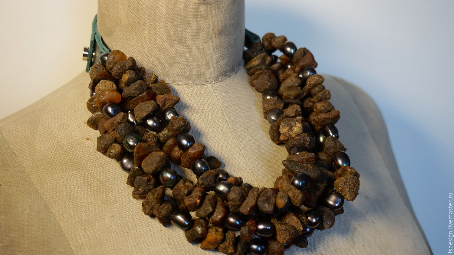 """Necklace """"Kenia"""", Necklace, Moscow,  Фото №1"""