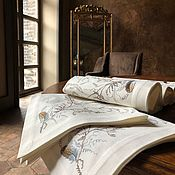 Для дома и интерьера handmade. Livemaster - original item Tablecloth with embroidery