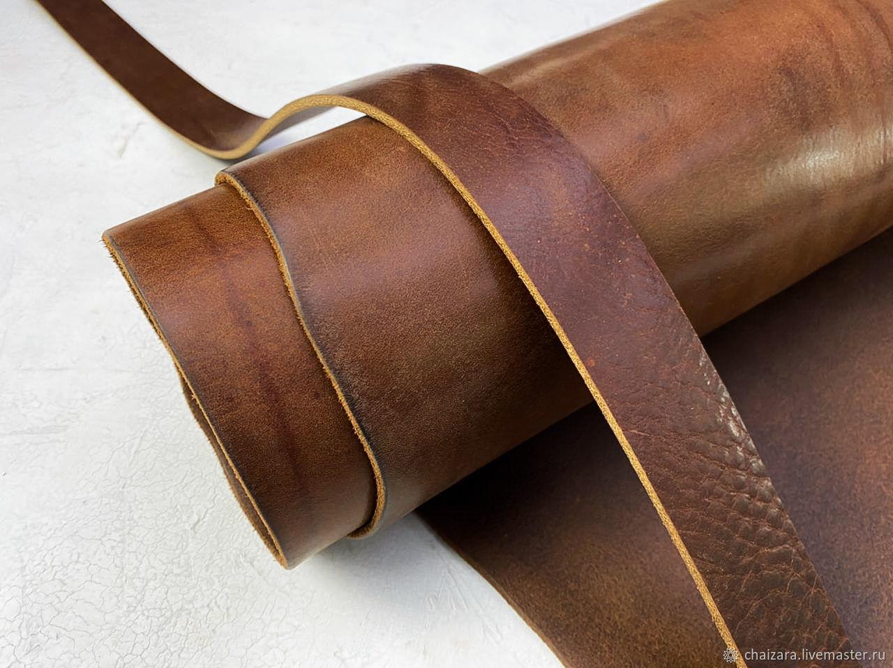 Ременная кожа 3.8-4.0 мм Missouri MS12, Кожа, Оренбург,  Фото №1