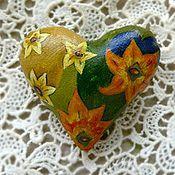 Украшения ручной работы. Ярмарка Мастеров - ручная работа Цветочное сердце. Handmade.