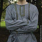 Одежда ручной работы. Ярмарка Мастеров - ручная работа Рубаха для бани. Handmade.