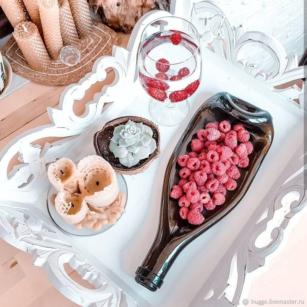 Подарок на свадьбу: тарелка-бутылка, Тарелки, Москва,  Фото №1