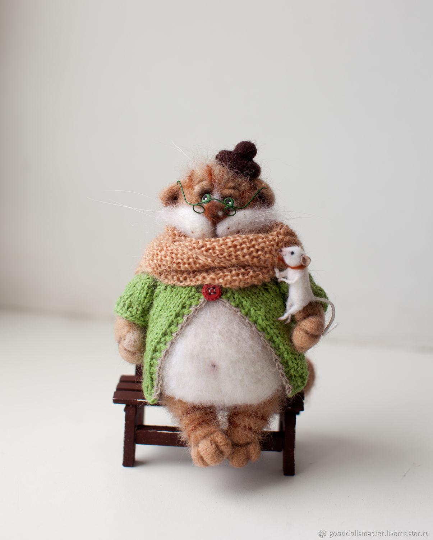 Петр Филлимонович с другом мышонком:), Мягкие игрушки, Тольятти,  Фото №1