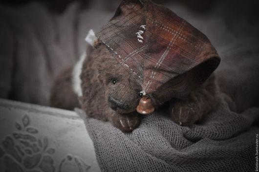 Мишки Тедди ручной работы. Ярмарка Мастеров - ручная работа. Купить Васяя.... Handmade. Разноцветный, мишка в подарок, антик, вискоза