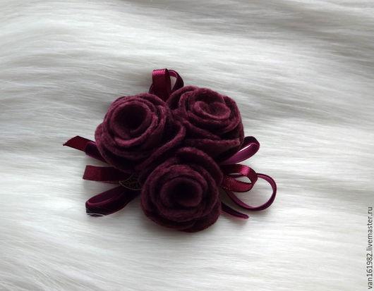 """Броши ручной работы. Ярмарка Мастеров - ручная работа. Купить Валяная брошь """"Прованс 2"""". Handmade. Разноцветный, брошь цветок"""