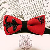 Аксессуары handmade. Livemaster - original item Bow tie spider-Man/ Marvel/ / superhero/ Spider-Man. Handmade.
