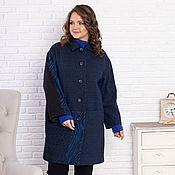 Одежда handmade. Livemaster - original item Author`s coat Blue Wave 4. Handmade.