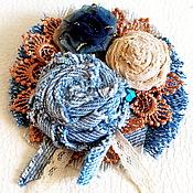 Украшения handmade. Livemaster - original item brooch textile