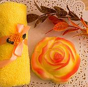 Косметика ручной работы. Ярмарка Мастеров - ручная работа Чайная роза. Handmade.