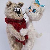 """Куклы и игрушки ручной работы. Ярмарка Мастеров - ручная работа Коты из м/ф """"Кот, который умел петь"""". Handmade."""