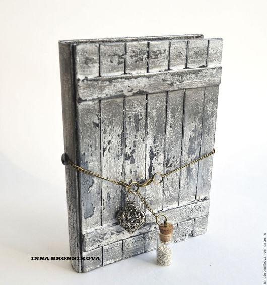 """Блокноты ручной работы. Ярмарка Мастеров - ручная работа. Купить Блокнот """"Тайна"""". Handmade. Серебряный, блокнот для записей, блокнот для девушки"""