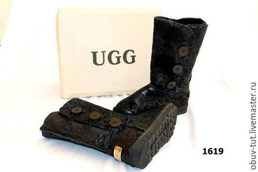 Обувь ручной работы. Ярмарка Мастеров - ручная работа. Купить Угги с пуговицами 35,36,37,38,39,40,41. Handmade.