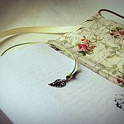 "Канцелярские товары ручной работы. Ярмарка Мастеров - ручная работа Блокнот ""Roses"". Handmade."