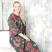"""Одежда ручной работы. Ярмарка Мастеров - ручная работа Авторское валяное платье """"Flower garden"""" пока резерв. Handmade."""