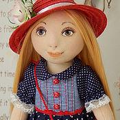 Куклы и игрушки ручной работы. Ярмарка Мастеров - ручная работа Текстильная интерьерная кукла ЯНОЧКА. Handmade.