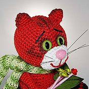 Подарки к праздникам ручной работы. Ярмарка Мастеров - ручная работа Рыжая кошка Жанетт. Handmade.